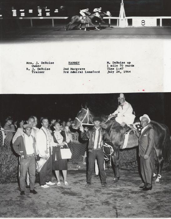 Hamney_7.24.64_Corky_Steve_Richard_Ruth_Mickey holding horse_Moe riding_James