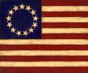 13 star American Flag pinterest