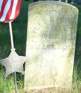 Alfred Hazard Brookfield Cemetery
