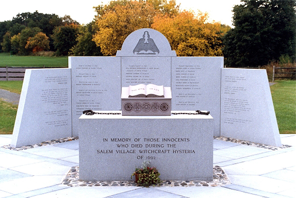 Salem Village Witch Memorial
